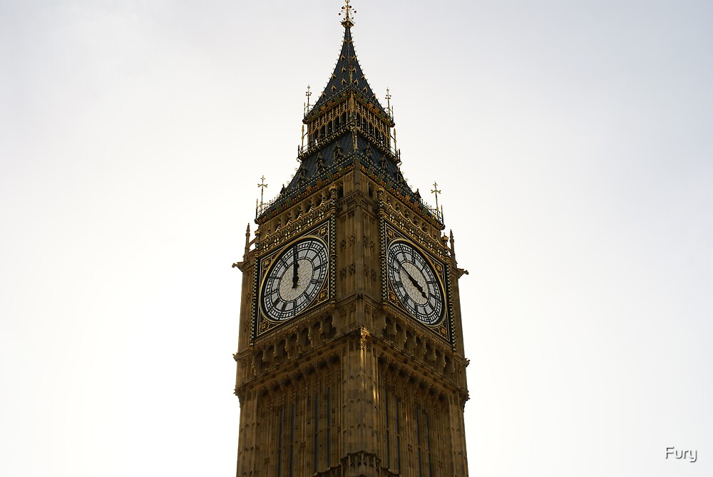 Big Ben Up Close by Fury