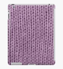 Mauve Knit iPad Case/Skin