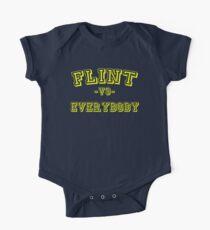 Flint vs Everybody One Piece - Short Sleeve
