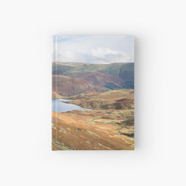 Easdale Tarn von oben Notizbuch