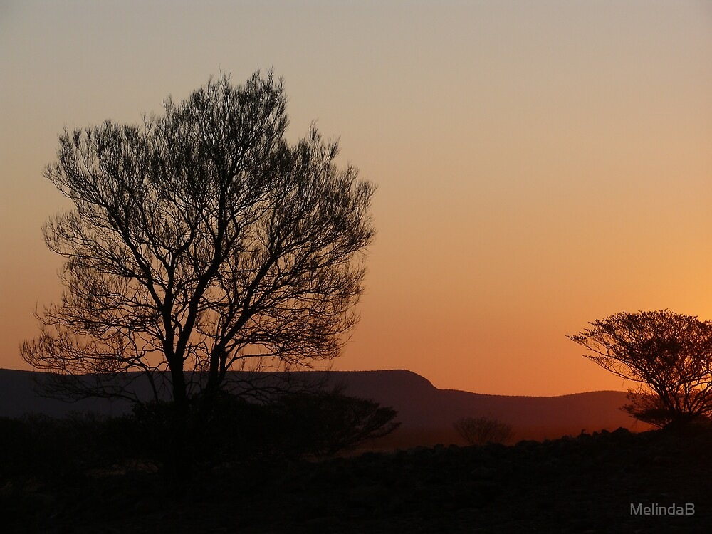 Sunset in the Gascoyne by MelindaB