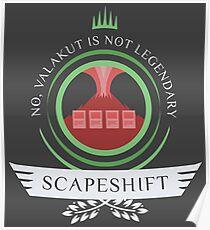 Magic the Gathering - Scapeshift Life V2 Poster