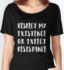 Resistance Women's Relaxed Fit T-Shirt