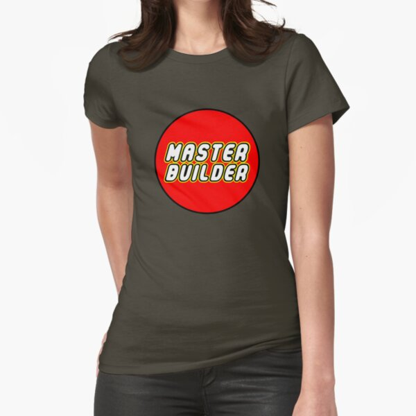 MASTER BUILDER Fitted T-Shirt