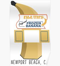 Arrested Development - Bluth's Frozen Banana Stand Poster