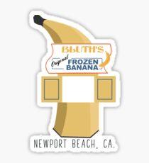 Arrested Development - Bluth's Frozen Banana Stand Sticker