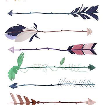 Arrows  by AidaDoesDoodles
