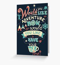 Peter Pan Quote #01 Greeting Card