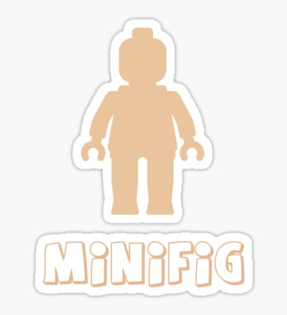Minifig [Flesh Pink], Customize My Minifig Sticker