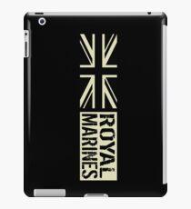 British Royal Marines Black Military Flag iPad Case/Skin