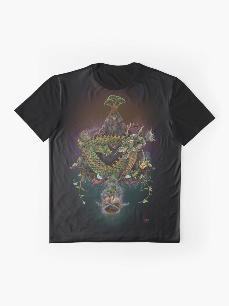 Alternate view of The Earth Dragon Graphic T-Shirt