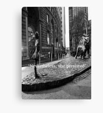 Fearless Girl Canvas Print