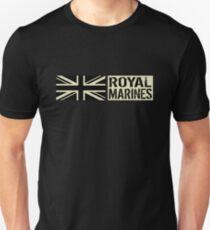 British Royal Marines Black Military Flag Unisex T-Shirt
