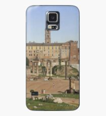 Christoffer Wilhelm Eckersberg - View Of The Forum In Rome Case/Skin for Samsung Galaxy