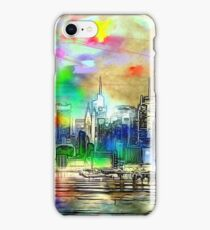 New York Rainbow Skyline iPhone Case/Skin