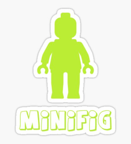 Minifig [Lime Green], Customize My Minifig Sticker