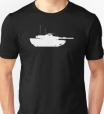 M1 Abrams Main Battle Tank Unisex T-Shirt