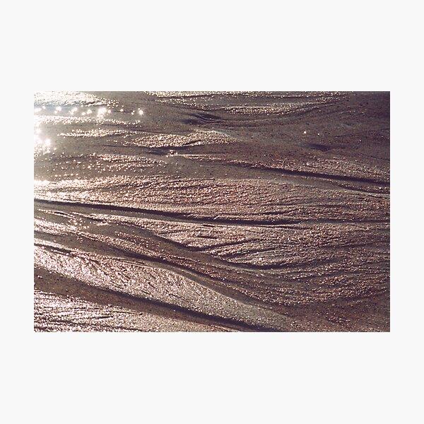 Shore Sand Photographic Print