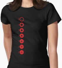 Aperture Scale Womens Fitted T-Shirt