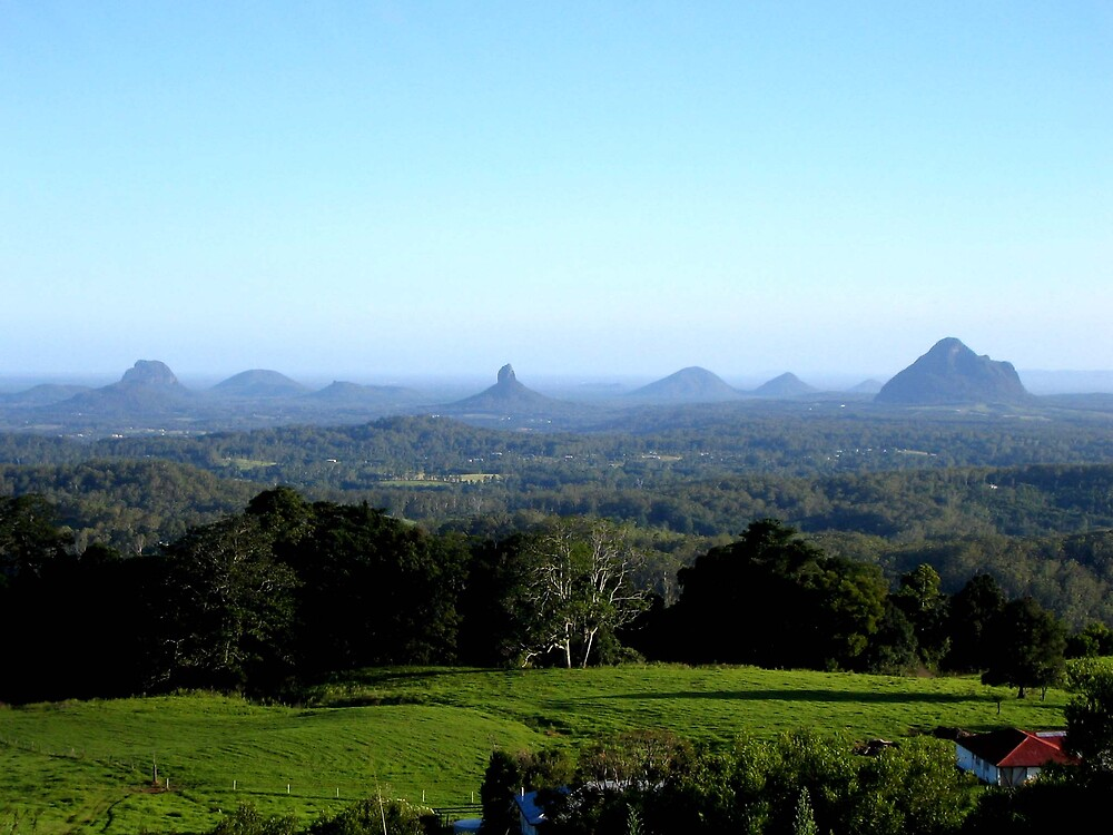 Glass House Mountains by Rhapsody