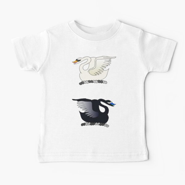 Swans in the lake Baby T-Shirt