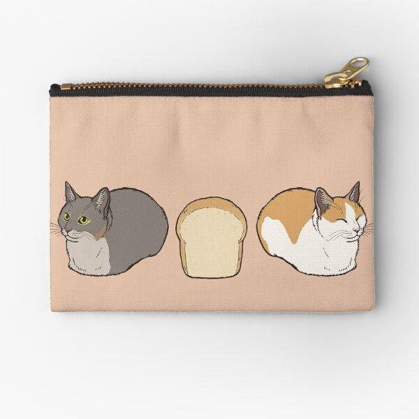Cat loaf Zipper Pouch