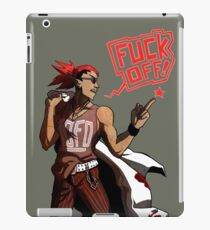 fuck off with your products! iPad Case/Skin