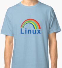 Rainbow Linux Classic T-Shirt
