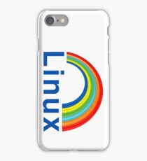 Rainbow Linux iPhone Case/Skin