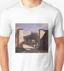 Christen Kobke - The North Gate Of The Citadel 1834 T-Shirt