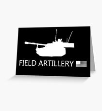 U.S. Military: Field Artillery Greeting Card