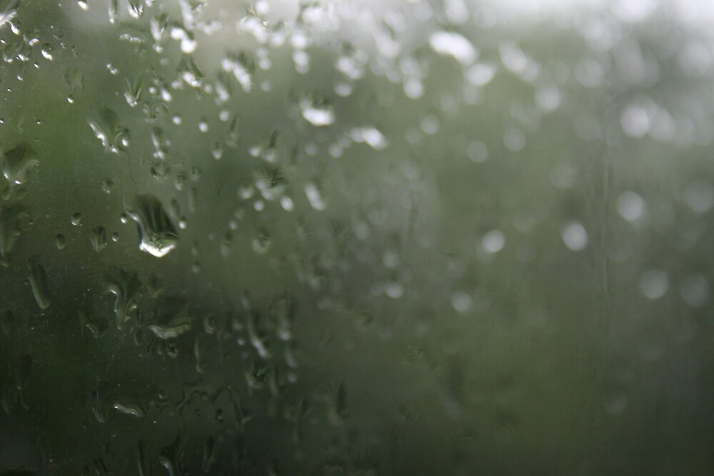 Raindrops on a Window by whircat