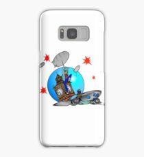 Rose Tyler Meets Captain Jack Harkness Samsung Galaxy Case/Skin