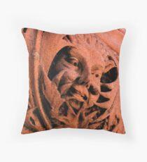 Fresco Face Throw Pillow