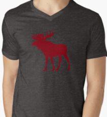 Moose: Rustic Red T-Shirt