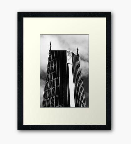 Melbourne Central Tower Framed Print