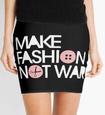 MAKE FASHION NOT WAR Mini Skirt
