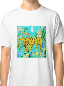 Tiger In The Jungle Classic T-Shirt