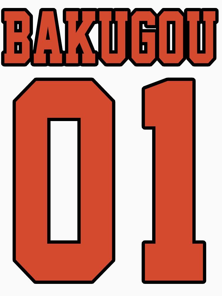 Bakugou Sport Jersey by DarksStars