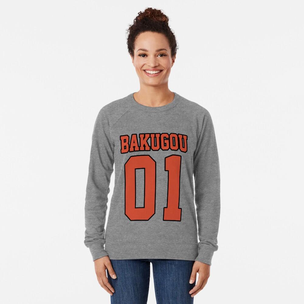 Bakugou Sport Jersey Lightweight Sweatshirt