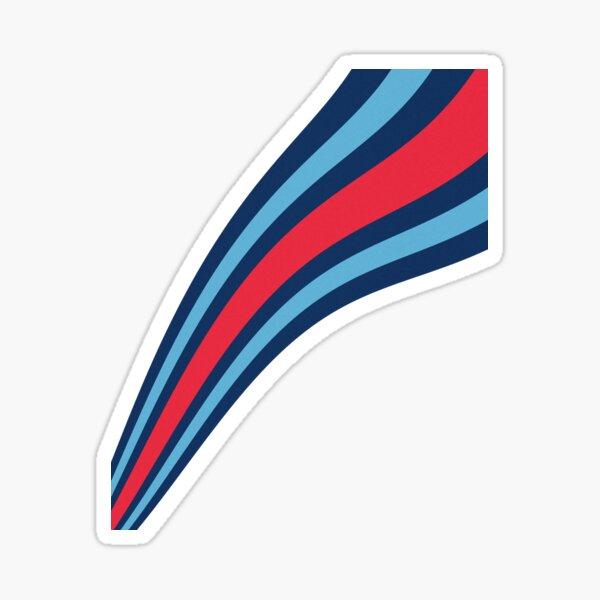 F1 Martini Stripes - Formule Un Sticker