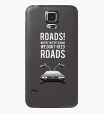 Back to the Future - Roads Case/Skin for Samsung Galaxy