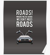 Póster Regreso al futuro - Caminos