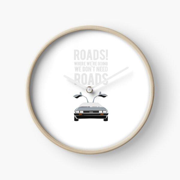 Back to the Future - Roads Clock