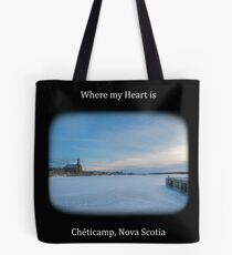 Where my Heart Lays Tote Bag