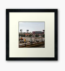 Cermak-Chinatown Stop Framed Print