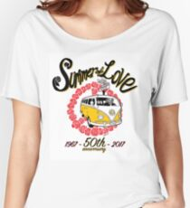 Summer of Love 50th Anniversary Women's Relaxed Fit T-Shirt