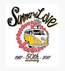 Summer of Love 50th Anniversary Photographic Print