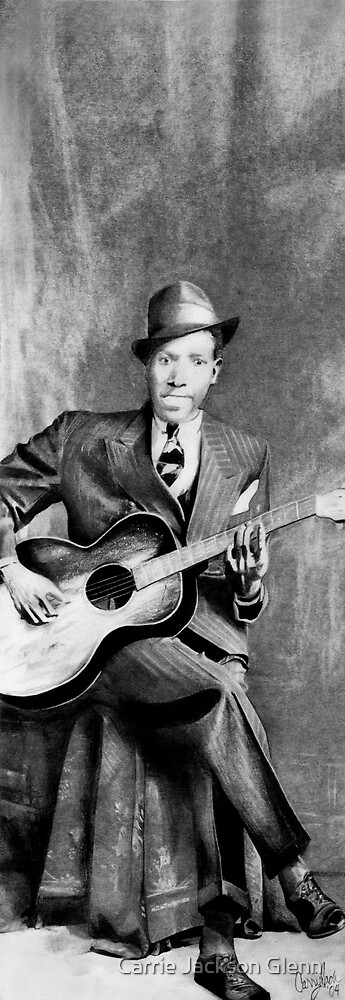 Portrait of Robert Johnson by Carrie Jackson