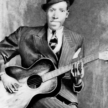 Portrait of Robert Johnson by cglenn